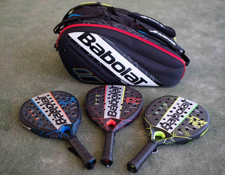Babolat padel rackets 2021