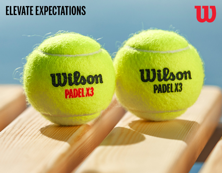 Wilson padelballen
